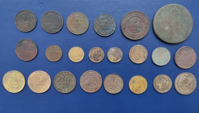 Большая подборка монет