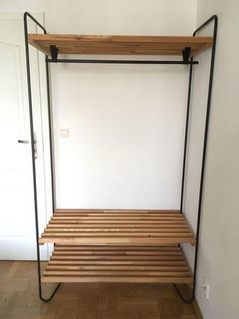 Rezerwacja do 16:30 SZAFA garderoba otwarta IKEA BODO