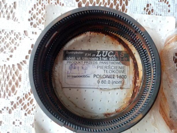 Pierścienie tłokowe Polonez 1.6 80.0 nominal