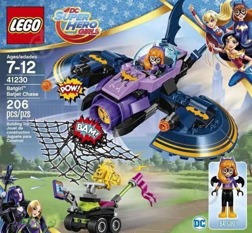 Lego super hero girls batgirl dc friends 41230