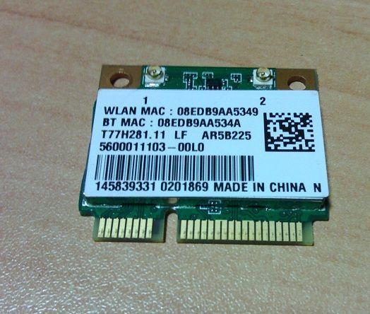 Placa wireless potatil WIFI Wireless