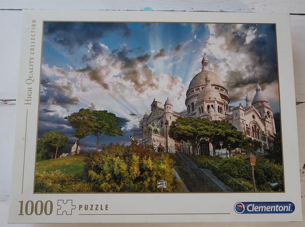 Puzzle Clementoni 1000 Paryż Sacre Coeur