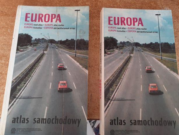 Atlasy samochodowe