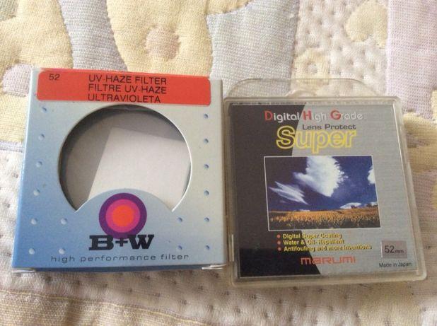 Продам светофильтр 52 мм B+W UV Haze, Marumi DHG Super LP новые