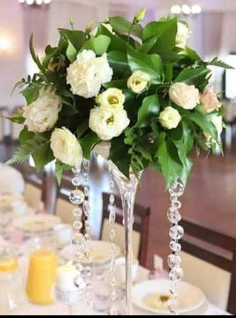 Kryształki /dekoracja ślubna