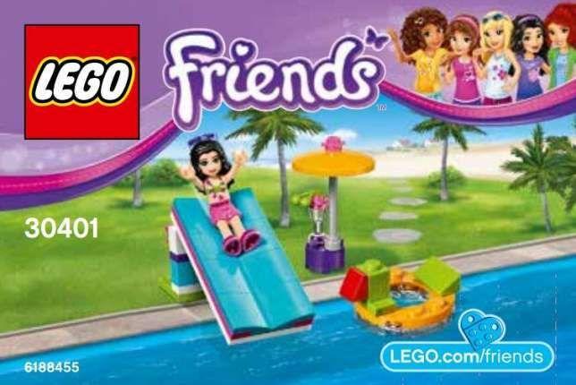 Lego Friends 30401 - Zjeżdżalnia na basenie