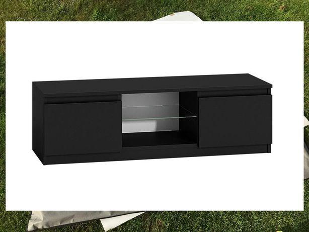 Szafka RTV pólka na kino domowe sprzet audio video szuflady stolik rtv