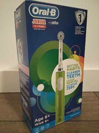 Nowa szczoteczka elektryczna dla dzieci Oral B junior