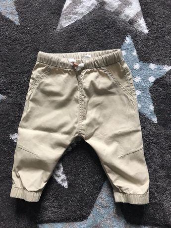 Spodnie chłopięce h&m 74