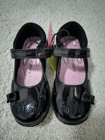 Туфли туфлі для девочки George розмір є 27 і 28