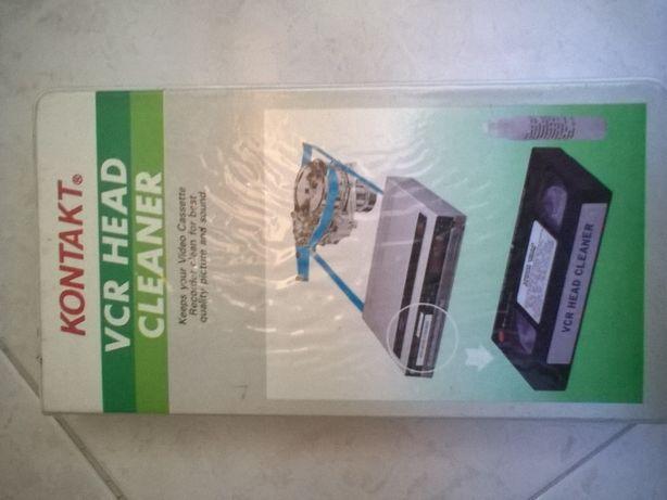 Cassete VHS de limpeza