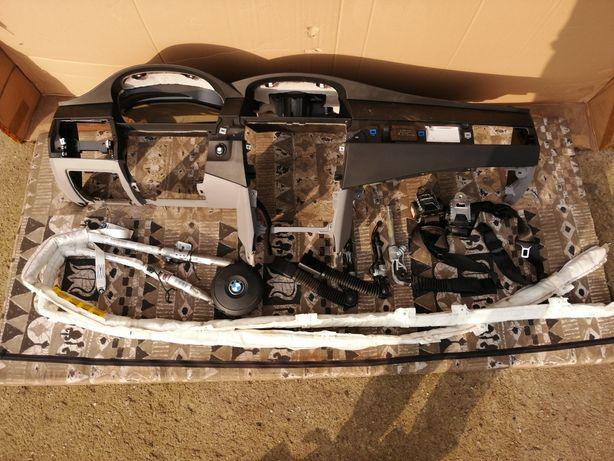 Konsola bmw e60 lift poduszki kurtyny zestaw
