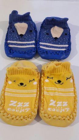 Детские тапочки носочки чешки