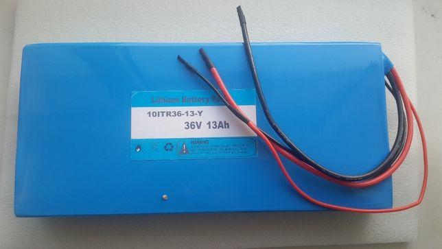 Аккумулятор литиевый LiPol 36v13ah - запчасти для транспорта.