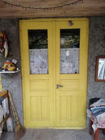 Окно, дверь, деревянные.