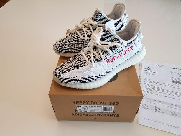Sapatilhas Adidas Yeezy Boost 350 v2 zebra