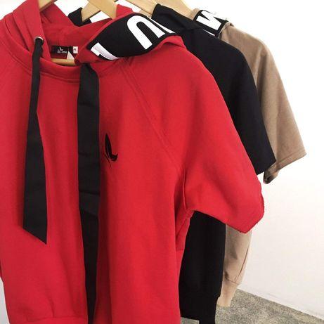Bluza dresy sport lamu la.. Mu czerwona czarna s, m, l