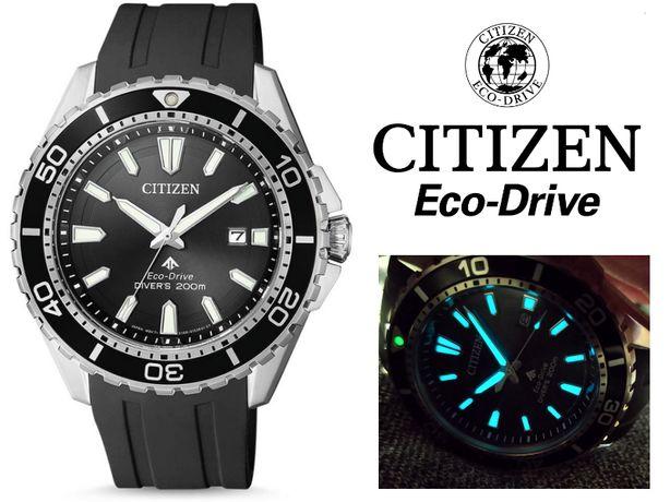 б.в. CITIZEN PROMASTER ECO-DRIVE DIVER BN0190-15E годинник / часы