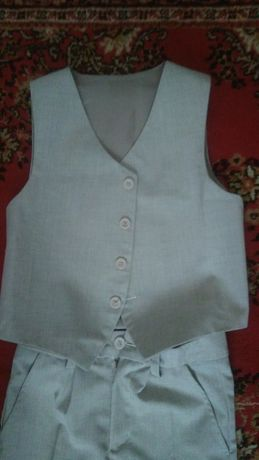 Пиджак, брюки, жилетка (костюм) для мальчика