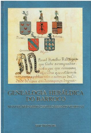 9735 Genealogia Heráldica do Barroco de Manuel Bernardo Castelo Branc