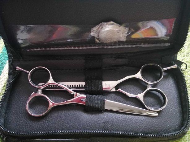 nożyczki i degażówki fryzjerskie Fox Student 5,5   w oryginalnym etui