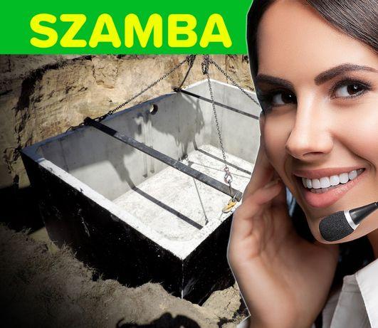 Zbiornik betonowy 12 000 litrów na gnojowicę szambo betonowe RADOMSKO