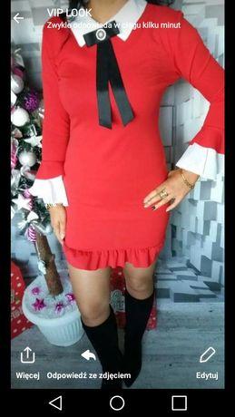 Piękna sukienka sylwester andrzejki XS S M