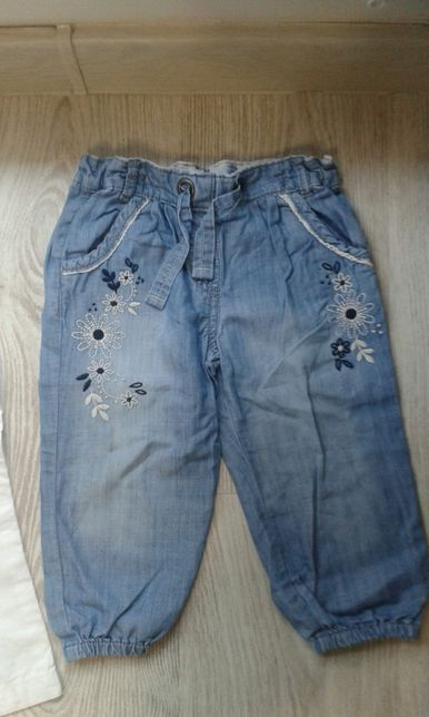 Spodnie na 3/4 firmy F&f rozmiar 104 cm Cena 5 zł