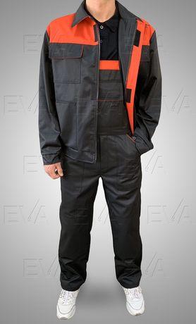 Костюм рабочий универсальный куртка+полукомбинезон Спецодежда EVAtrade