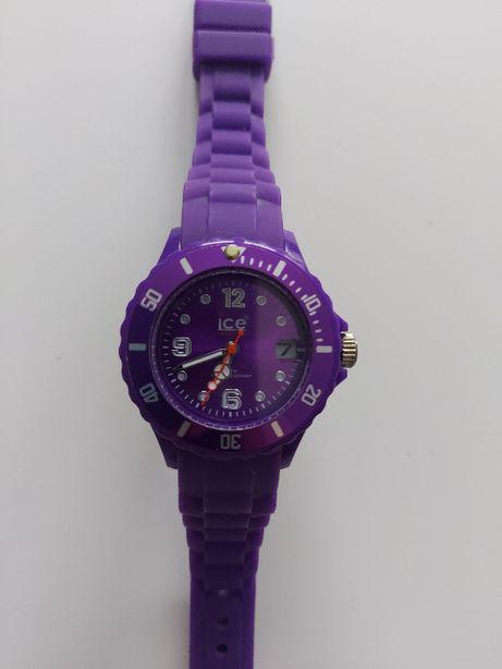 Fioletowy zegarek Ice Watch gumowy damski