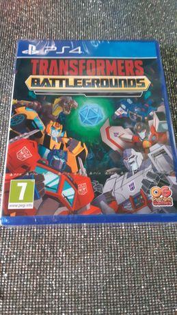 NOWA Transformers Battlegrounds w PL na PS4 we folii