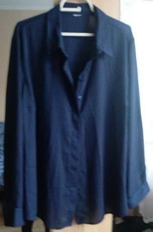 Duża bluzka koszulowa 50-52