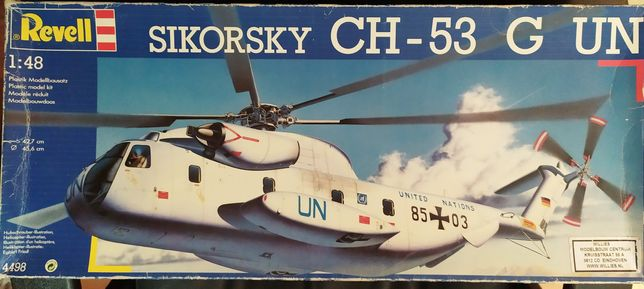 Revell Sikorsky CH-53G UN 1:48 kit modelismo