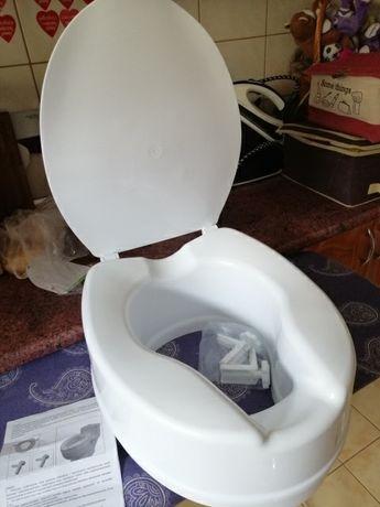 Nowa nasadka toaletowa 15 cm z klapą