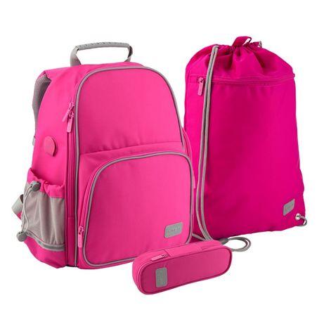SET_Школьный Smart рюкзак+пенал+сумка 3в1 для девочки в 1класс KITE