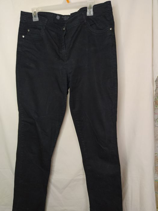 Женские  черные штаны Краматорск - изображение 1