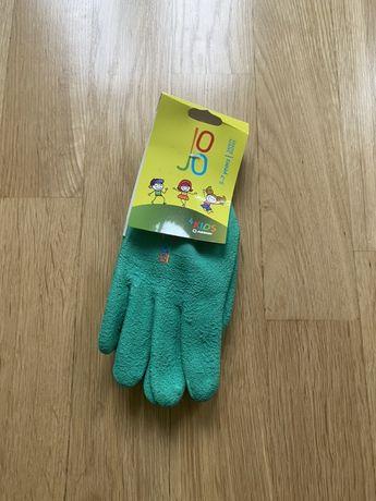 Rękawiczki ogrodnicze dziecięce powlekane