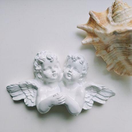 Білі ангелочки ангелы декор для дома