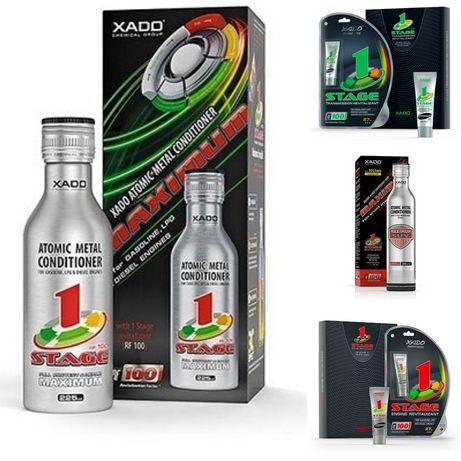 Присадки ревитализанты XADO ХАДО  очиститель добавка в масло ATOMex
