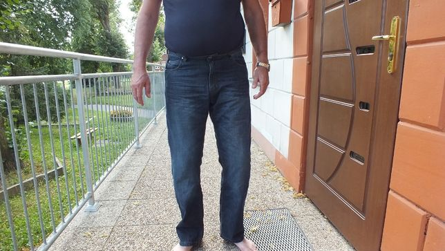 Super spodnie jeans na motor marki Modeka roz 38