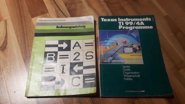 Texas Instruments T99/4A książka systemowa i z programami