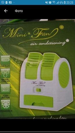 Мини кондиционер Conditioning Air Cooler USB Electric Mini Fan (Air Fa