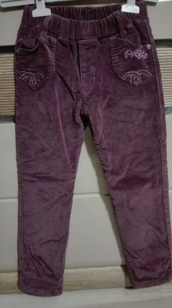 Spodnie zimowe Ocieplane spodnie