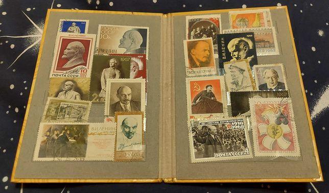423 марки СССР в альбомах