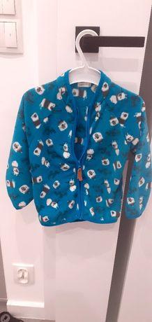 Bluza  z ciepłego  polaru