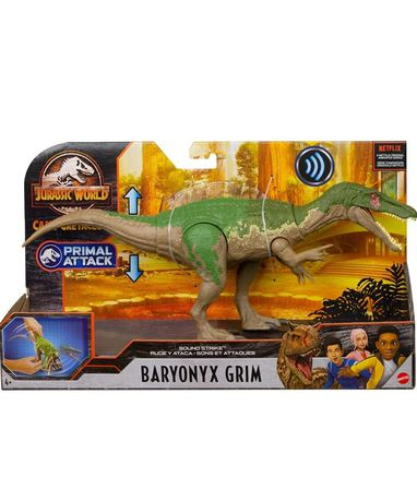 Jurassic world baryonyx Mattel парк Юрского периода динозавр оригинал