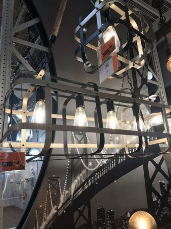 OBI Sanico Lampa sufitowa Klatka 4x10W E27 Obniżka z 619 zł na 549 zł