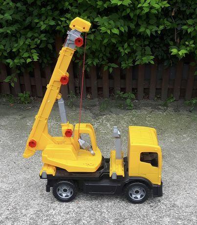 Zabawki auta, auto koparka traktor straż