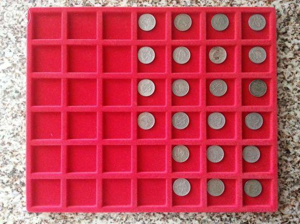 Colecção de moedas 2,5 escudos