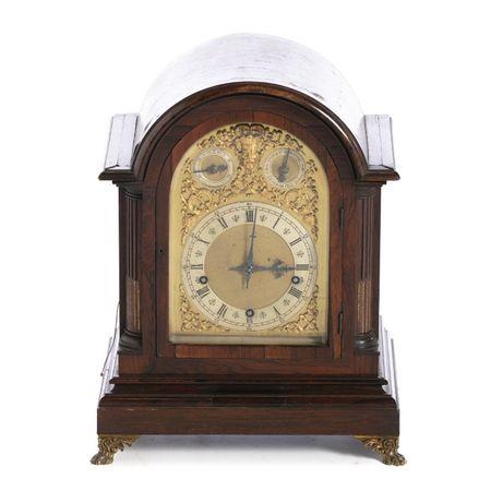 Relógio Mesa Alemão Séc XIX